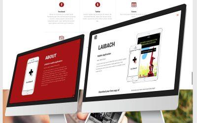 SLOTOP50 – Mobilna aplikacija Laibach